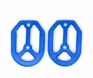 MDR Replacement Rubber For Pro Bite Footpegs - Blue