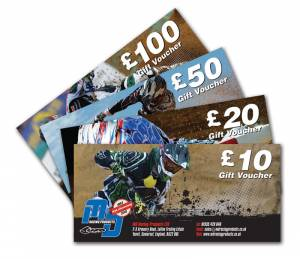 MDR GIFT VOUCHER £10 pounds