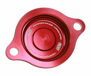 MDR Oil Filter Cover Honda CRF 150R (07-16) Red