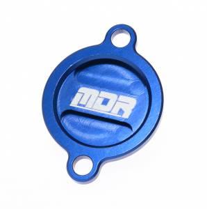 MDR Oil Filter Cover Husqvarna FC FE - Blue