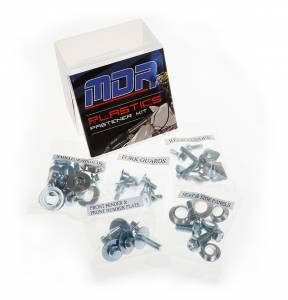 MDR Full plastic fastener kit Yamaha YZF 250 (10-13) WRF 450 (12-ON)
