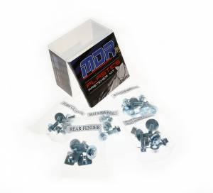 MDR Full plastic fastener kit KX 125 250 (03-07) KXF 250 (04-12) KXF 450 (04-ON) RMZ 250/450 (04-06)