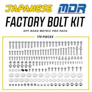 MDR Japanese Factory Bolt Kit