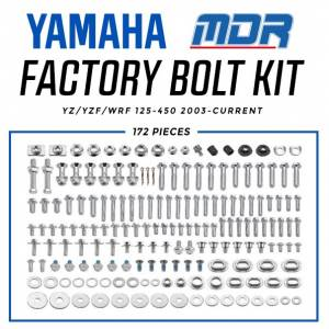 MDR Yamaha Factory Bolt Kit YZ/YZF (03-ON)