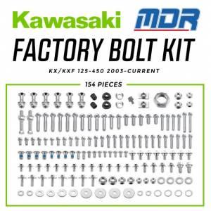 Kawasaki Factory Bolt Kit KX/KXF (03-ON)