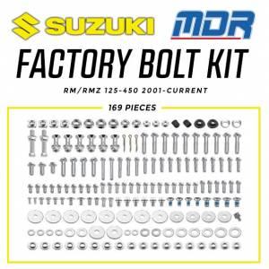 MDR Suzuki Factory Bolt Kit RM/RMZ (01-ON)