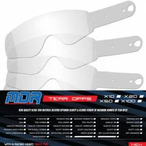 MDR 100% Goggle Tear Offs