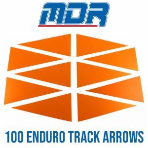 MDR Enduro Track Arrows - Neon Orange