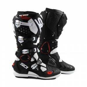 Sidi Crossfire 2 SRS Black White Motocross Boots