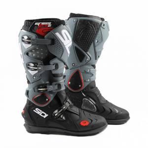 Sidi Crossfire 2 SRS Black Grey Motocross Boots