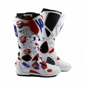 Sidi Crossfire 2 SRS Red White Blue Motocross Boots