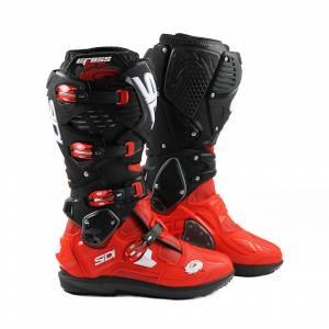 Sidi Crossfire 3 SRS Red Black Motocross Boots