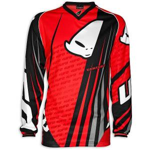 2015 UFO Adult Made In Italy Century Jersey - Neon Red