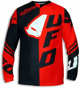 UFO Cluster Motocross Jersey in Red