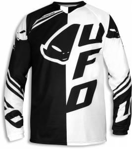 UFO Cluster Motocross Jersey Black White