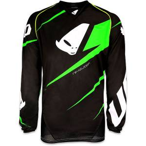2016 UFO Revolution Jersey - Green Black