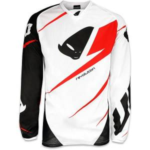 2016 UFO Adult REVOLUTION Made In Italy Jersey - White