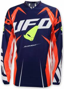 2017 UFO Element Jersey - Blue Red Yellow