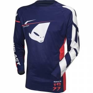UFO Slim Sharp Blue Motocross Jersey