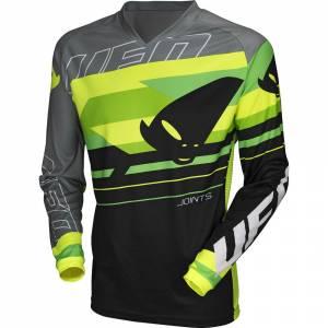UFO Joint Grey Green Motocross Jersey