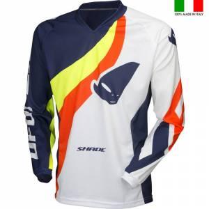 UFO Shade White Motocross Jersey
