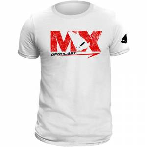 UFO MX White T-Shirt