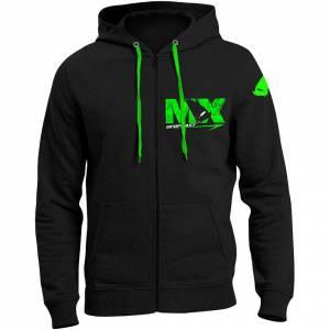 UFO MX Black Hooded Sweatshirt
