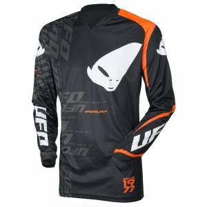 UFO Indium Black Motocross Jersey