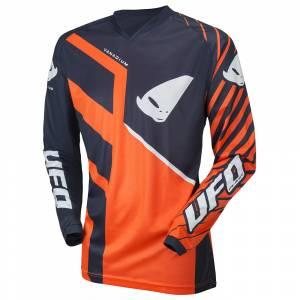 UFO Kids Vanadium Neon Orange Motocross Jersey