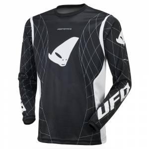 UFO Deepspace Black Motocross Jersey