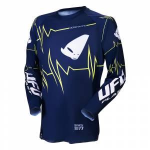 UFO Slim Adrenaline Blue Motocross Jersey