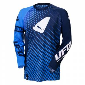 UFO Slim Radom Blue Motocross Jersey