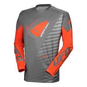 UFO Kimura Grey Orange Motocross Jersey
