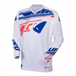 UFO Heron White Motocross Jersey