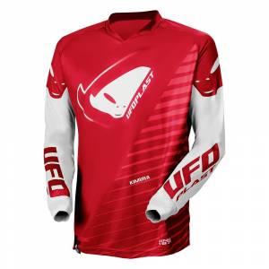 UFO Kids Kimura Red Motocross Jersey
