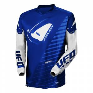 UFO Kids Kimura Blue Motocross Jersey