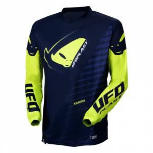 UFO Kids Kimura Blue Yellow Motocross Jersey