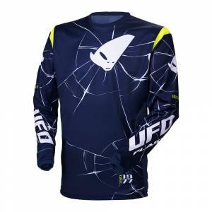 UFO Bullet Blue Yellow Motocross Jersey