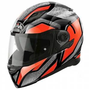 Airoh Movement S Steel Orange Full Face Helmet
