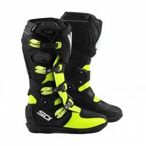 Sidi X3 Xtreme SRS Yellow Fluo Black Motocross Boots