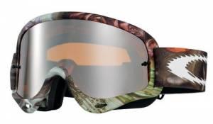 Oakley O Frame Goggles - Seedy Sleeved Black Iridium