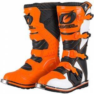 ONeal Rider Orange Motocross Boots