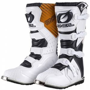 ONeal Rider White Motocross Boots