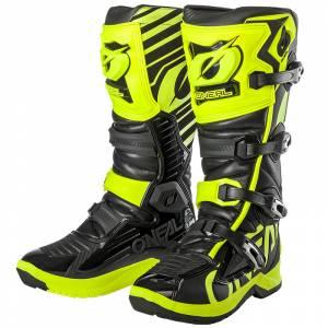 ONeal RMX Neon Yellow Motocross Boots