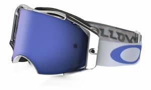 Oakley Airbrake MX Goggles - Villopoto Black Ice Iridium Signature Cod OO7046-25