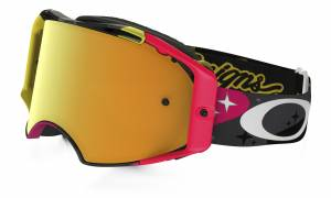 Oakley Airbrake MX Goggles - Troy Lee Designs Cosmic Camo Neon Cod OO7046-27