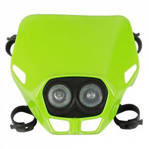 UFO Firefly Twins headlight 12V 35W - Green