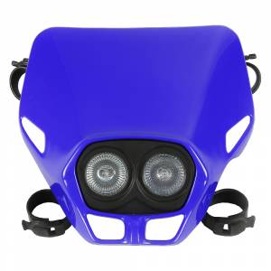 UFO Firefly Twins headlight 12V 35W - Blue