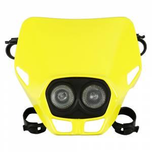 UFO Firefly Twins headlight 12V 35W - Yellow
