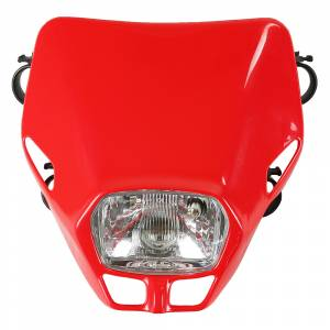 UFO Firefly headlight 12V 35W - Red
